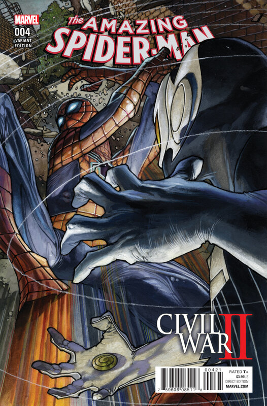 civil war II amazing spiderman 04 variant
