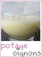 potage oignon - pommes de terre - index