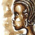 Petite fille de Guinée