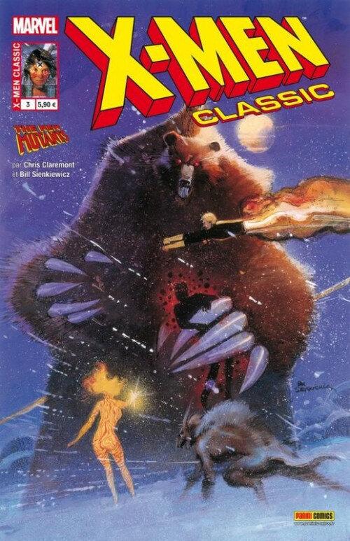 x-men classic 03 l'ours démon