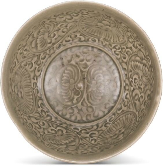 A 'Yaozhou' celadon bowl, Northern Song dynasty (960-1127)