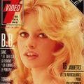 Couvertures magazines brigitte bardot