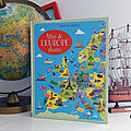 Chut on lit ! l'atlas de l'europe illustré des editions usborne