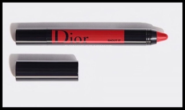 dior rouge graphist shout it