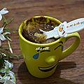 Mug cake chocolat poire