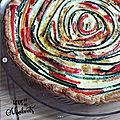 Des légumes pour les minibouts - tarte spirale aux légumes