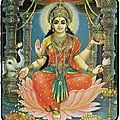 Carte porte-bonheur de lakshmi du grand maitre marabout dah gandossi