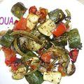 Légumes grillées au four