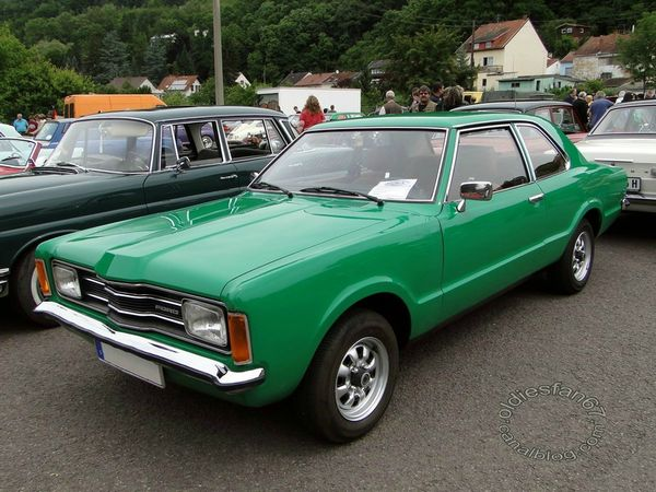 Ford Taunus XL TC berline 2 portes 1976 1