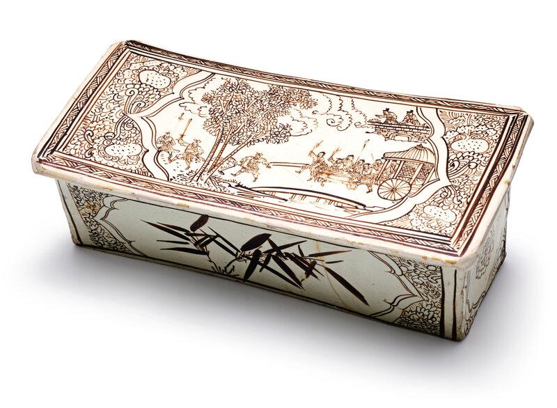 A Cizhou 'Figural' pillow, Jin-Song dynasty