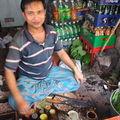 Vendeur de betel à Bandarban
