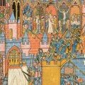 page de manuscrit des croisades