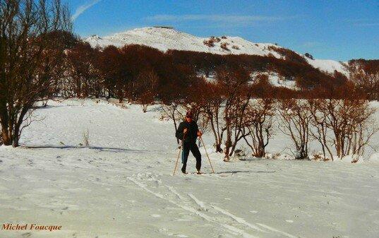 1663) sortie ski de fond au grd Colombier (Ain)