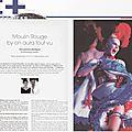 Moulin rouge by on aura tout vu et joséphine pour la beaute des femmes