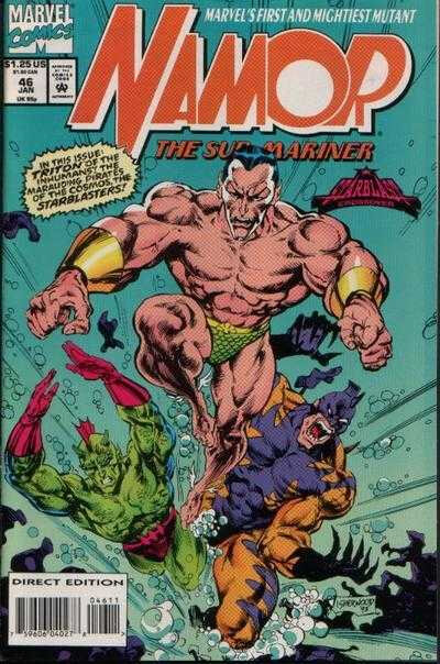 namor the sub-marine 1990 46