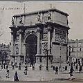 Marseille - Porte d'Aix - datée 1923
