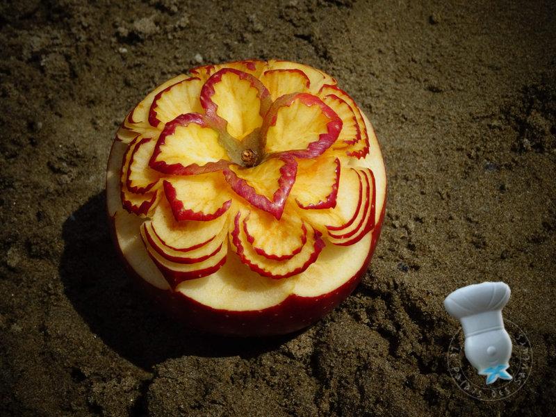Pomme à la plage #15
