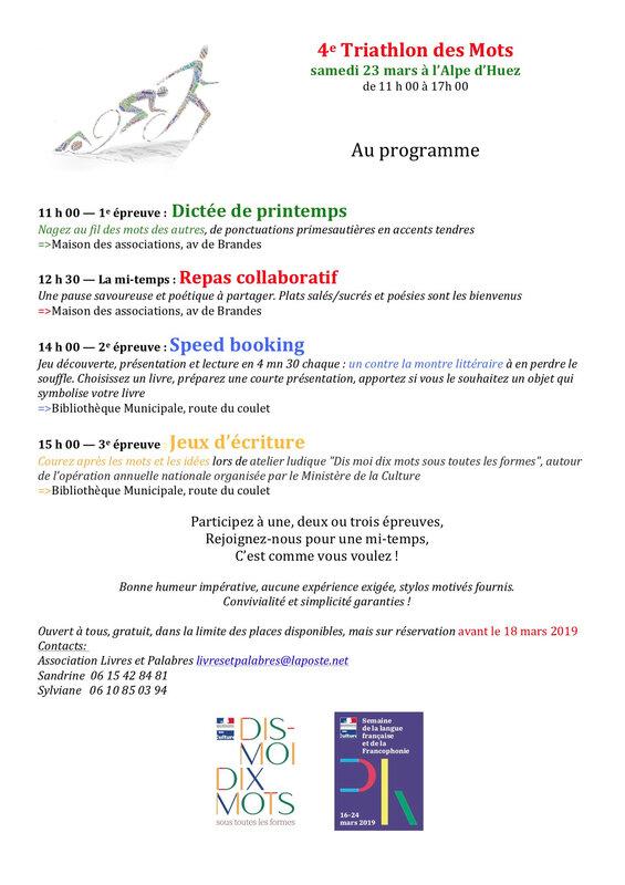4e TdM Programme 2019