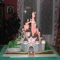 le château terminé vue de face
