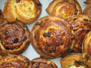 Pains aux raisins (la recette) et pâte à brioche