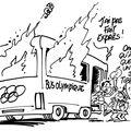 La flamme olympique voyage