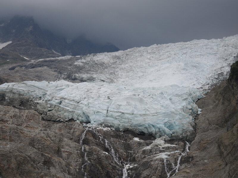 Les Houches, glacier des Bossons, panorama