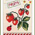 Échange ATC (Fruits) Chez Miou Marie de Clessé pour Miou 1