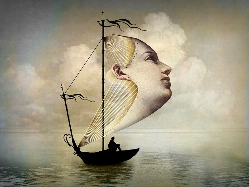 Catrin Welz-Stein - German Surrealist Graphic Designer - Tutt'Art@ (67)