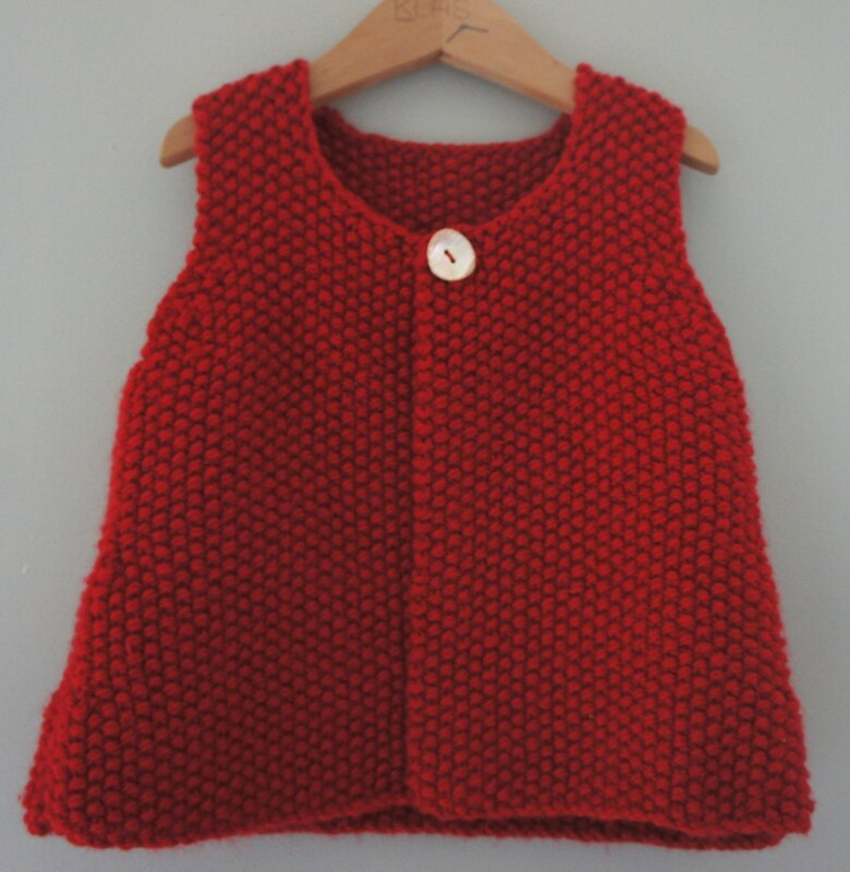 gilet rouge 1