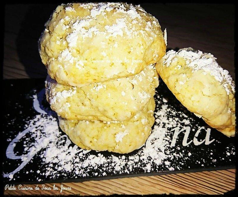 Craquelés au Citron 🍋 les-passions-de-faby.com