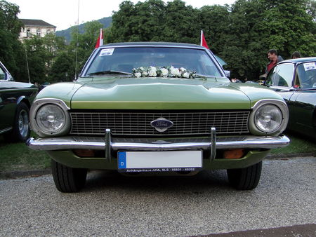 FORD Maverick 2door Fastback Sedan 1972 Internationales Oldtimer Meeting Baden-Baden 2009 1