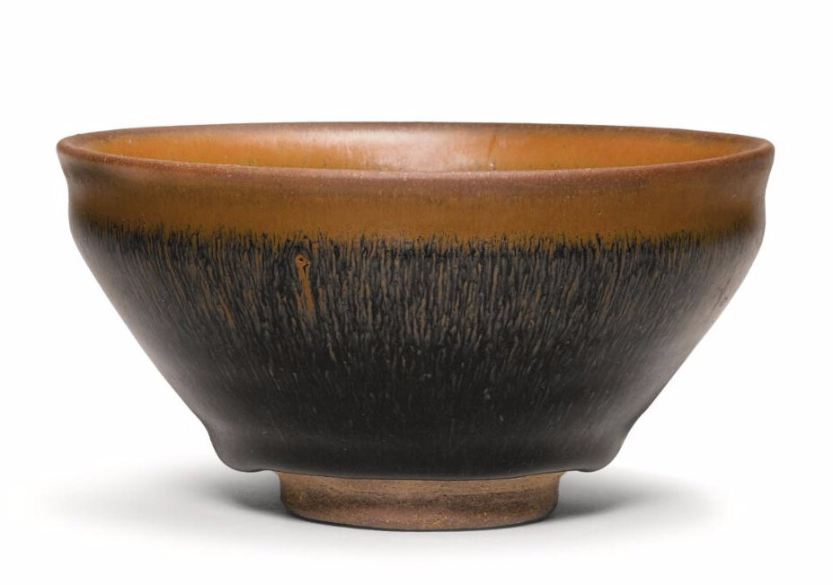 A fine 'Jian' 'hares-fur' tea bowl, Song dynasty (960-1279)