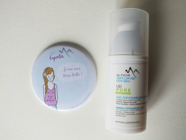 2 Concours Ma Bulle Cosmeto Saint-Gervais Mont Blanc Soin anti-imperfection Matifiant