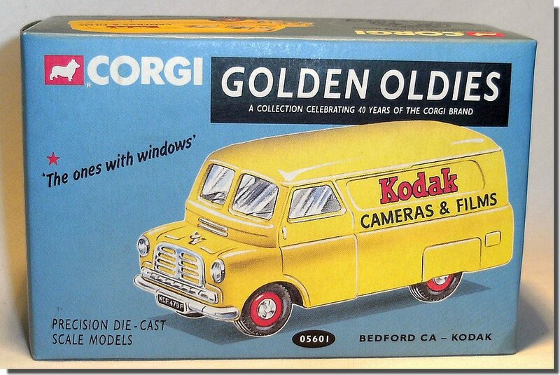 Bedford Van 1-43 Corgi Kodak A-6