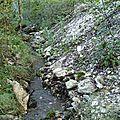 Commune: thorame basse. cours d'eau: adoux de neigas.