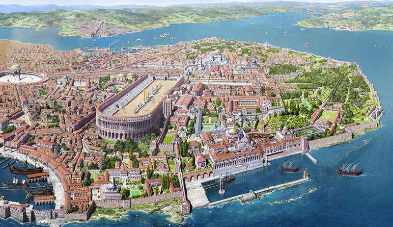Byzance Constantinople
