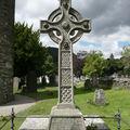 Glendalough, une croix celtique