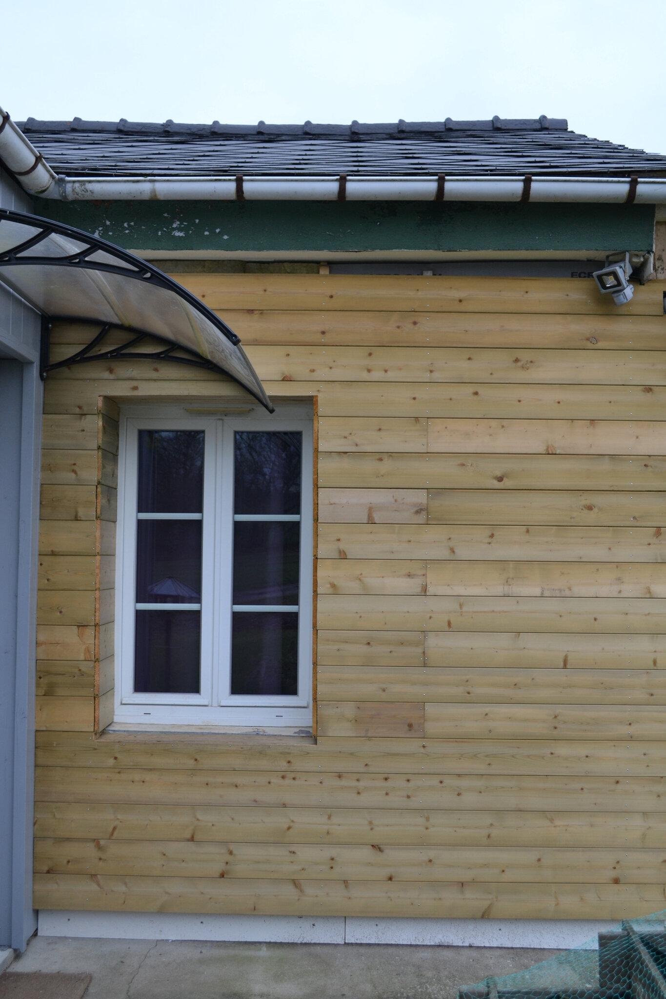 Encadrement De Fenetre Facade isolation façade - la petite louisiane