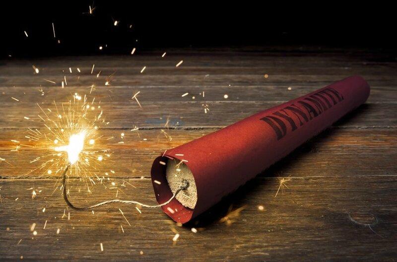 Dynamite en feu