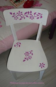 Chaise relookée (2)