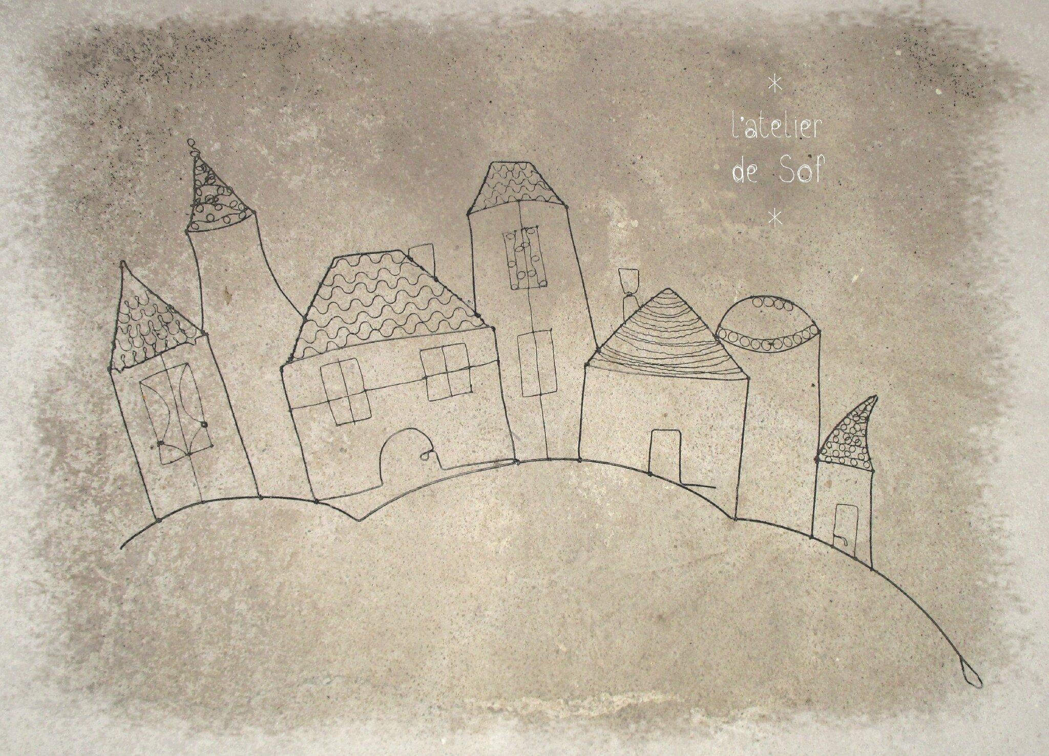 village fil de fer n°5