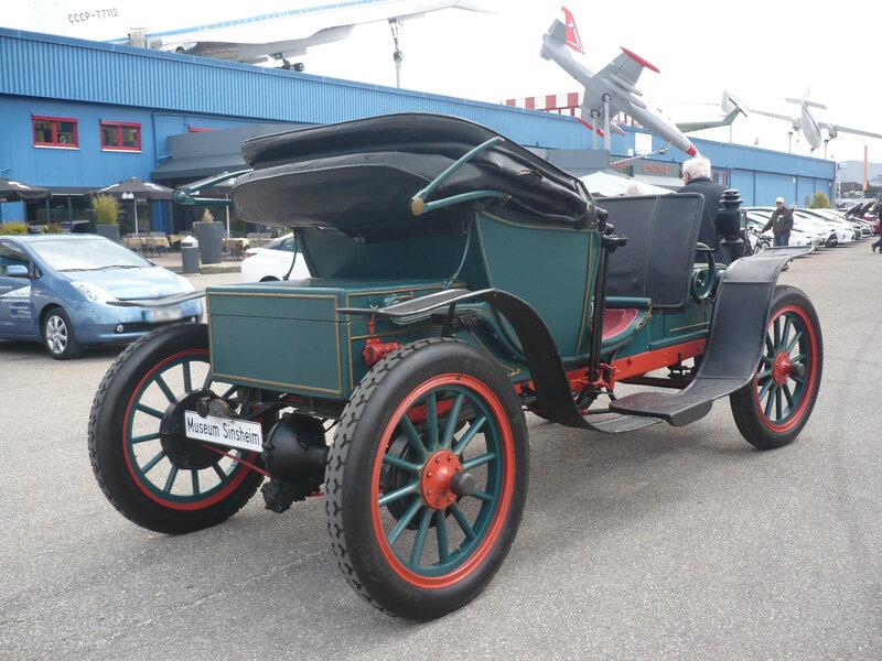 COLUMBIA Elektroauto 1904 Sinsheim (2)