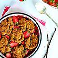 Cobbler aux fraises...ig bas