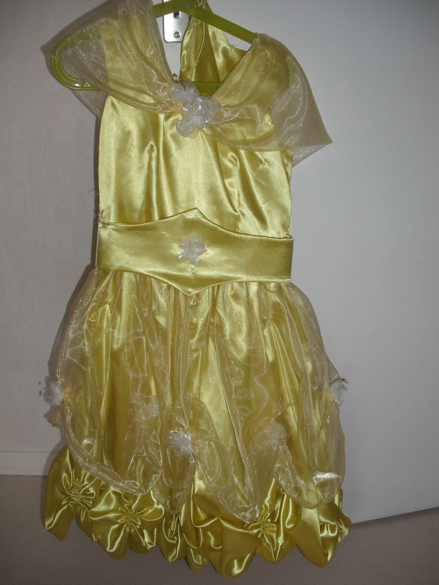 Robe Belle et la Belle 1