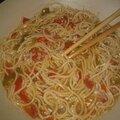 Soupe aux nouille chinoise recette pour 6 pers environ 4 pp part assiette