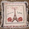 SAL I love Paris Coussin Recto