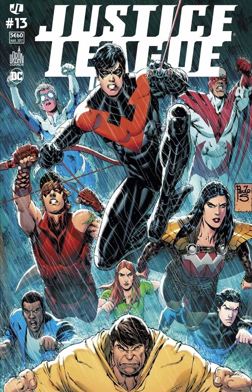 justice league univers 13