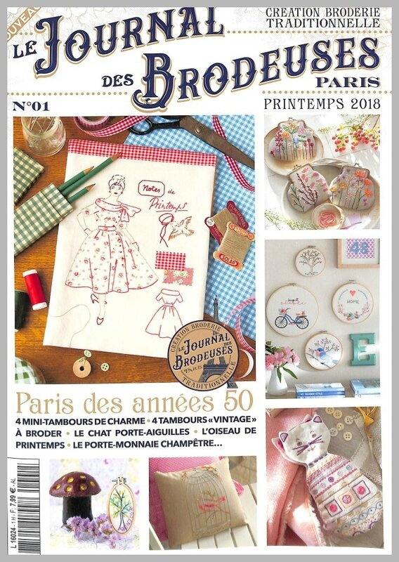 journal de brodeuse