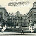 Collège de France 1913