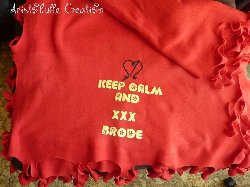 Etole frou-frou Véro - Keep calm